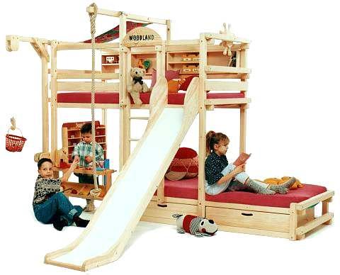 Woodland muebles para niños