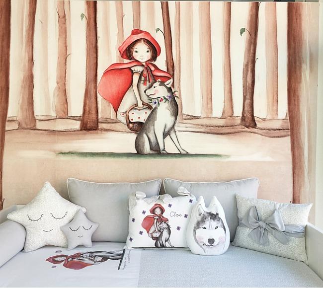 Murales para decorar paredes decoraci n infantil decoideas - Papeles infantiles para paredes ...