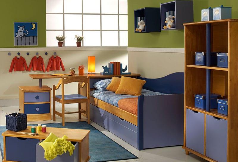 Muebles juveniles de madera maciza Indema