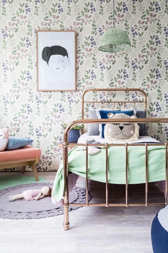Habitaci n infantil con muebles de forja - Muebles en forja ...