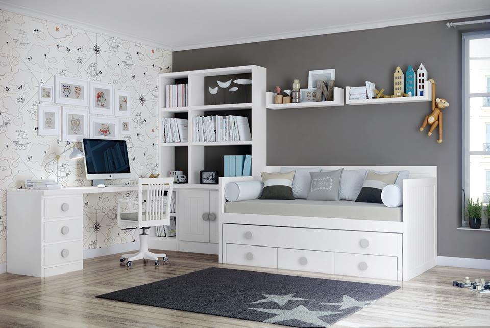 Muebles juveniles de madera maciza Colormobel