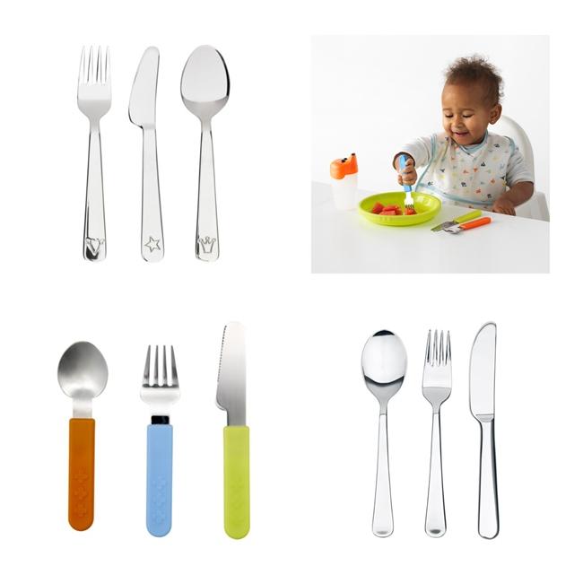 Cubiertos para niños, cubiertos infantiles Ikea