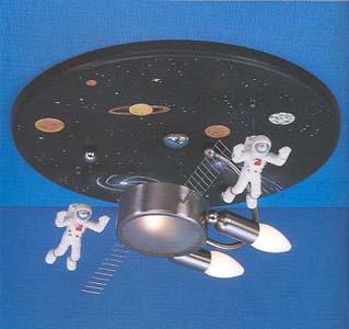 lámpara estación espacial