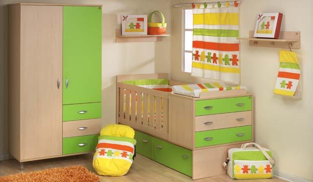 Mobiliario infantil monigotes todo para el Bebé