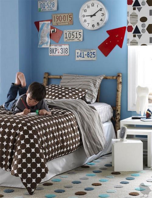 decorar paredes juveniles con matrculas