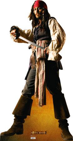 Poster decoración Juvenil Jack Sparrow Piratas del Caribe