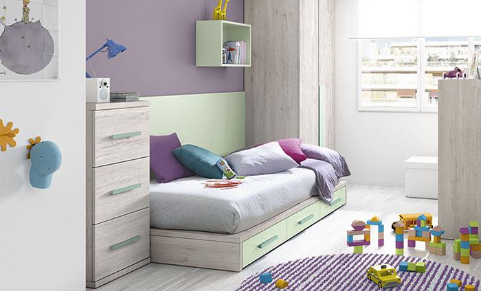 zona juvenil kibuc muebles juveniles