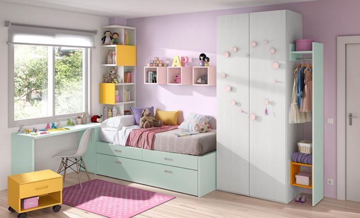 Zona juvenil kibuc muebles juveniles - Kibuc dormitorios ...