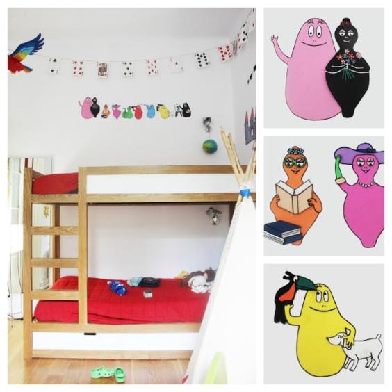 Fotos de habitaciones Barbapapas