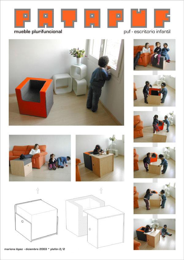 patapuf mobiliario plurifuncional
