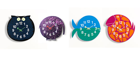 zoo timers, relojes infantiles
