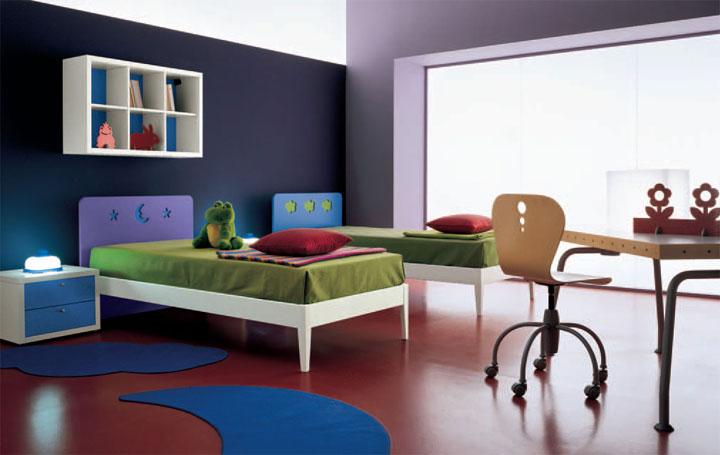 Dise o italiano para las habitaciones juveniles for Ideas para decorar dormitorio juvenil