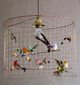 lámparas con aires campestres