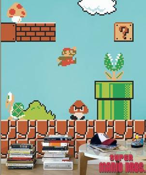 vinilos adhesivos Super Mario Bros