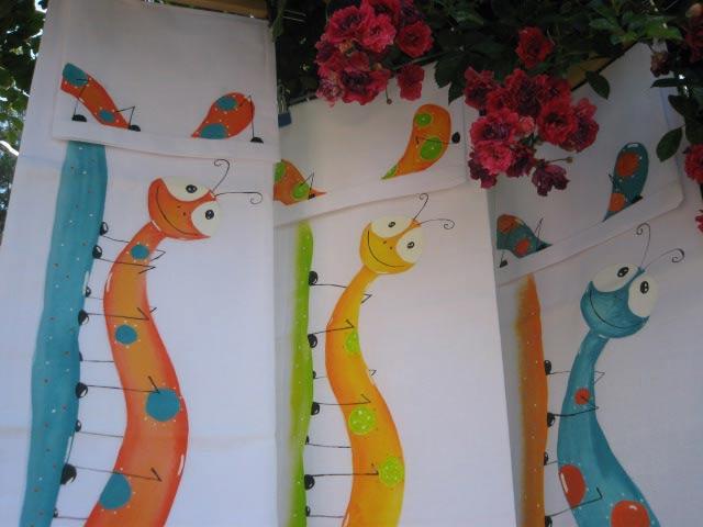 sabanas para niños pintadas a mano