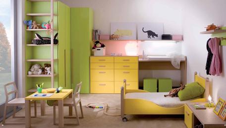 Dearkids fabricaci n italiana de muebles para ni os y j venes for Muebles originales para ninos