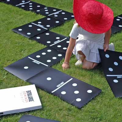 salvamanteles domino