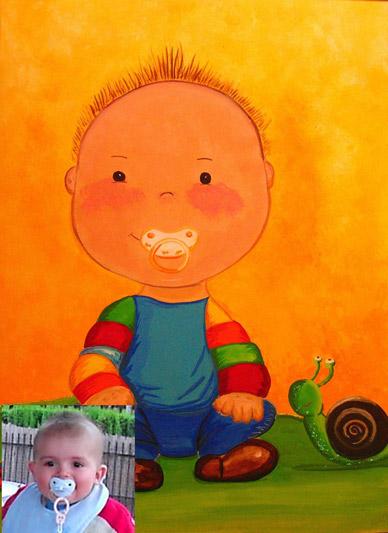 ilustracion infantil personalizada