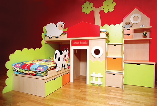 Mas marcas de muebles infantiles decoideas net - Dormitorios infantiles ninos 3 anos ...