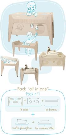 Muebles evolutivos para bebés