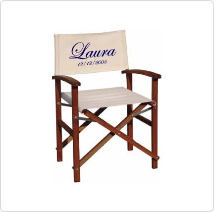 silla de director infantil