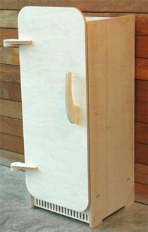 frigorífico de madera niñas