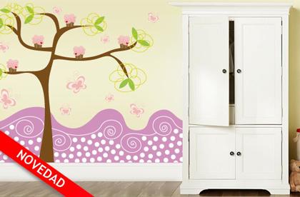 Mikomansu vinilos y murales decorativos for Murales y vinilos infantiles