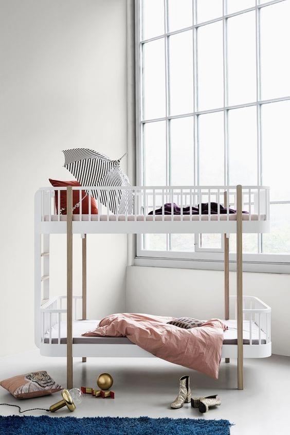 Habitaciones infantiles en color blanco decoideas net - Habitaciones infantiles en blanco ...