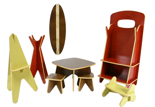 muebles ecológicos para niños