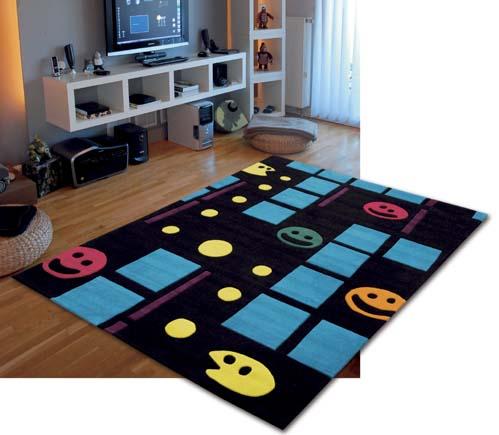 alfombra juvenil comecocos