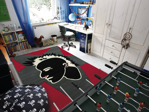 alfombra juvenil punk