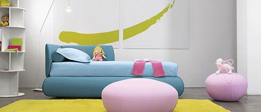 camas individuales para niños