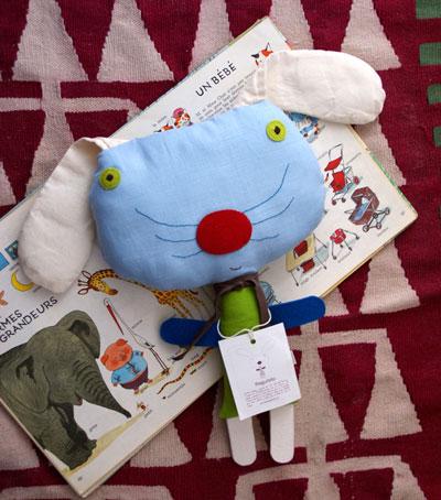 muñecos de tela para niños