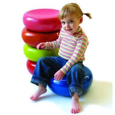 Asiento-puf para niños