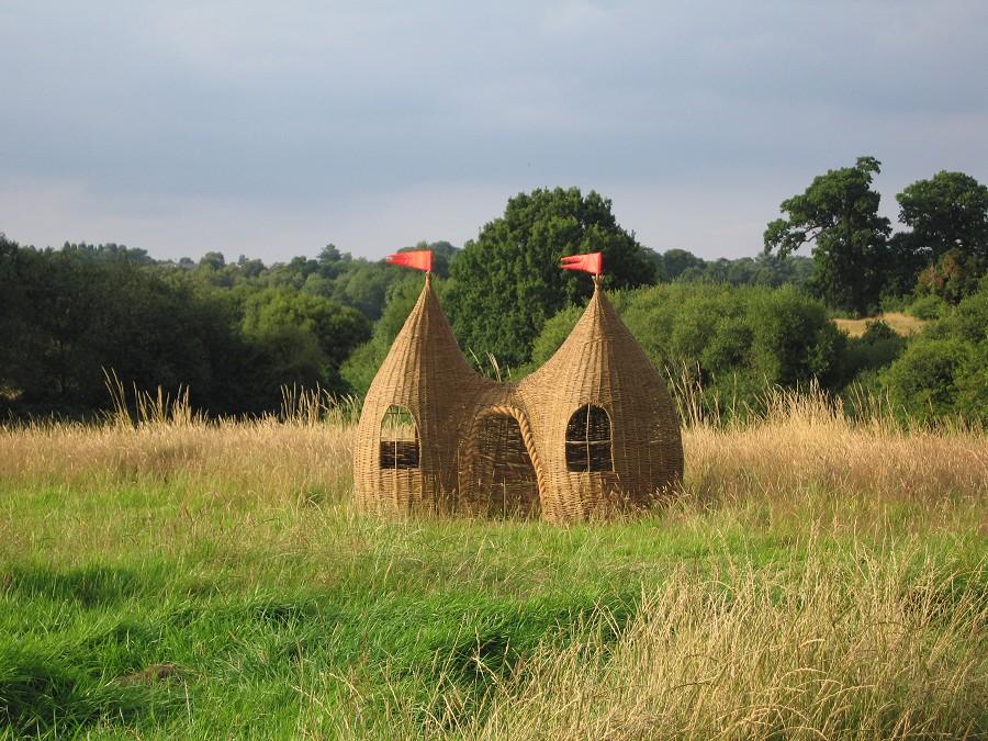 casa cabaña para niños