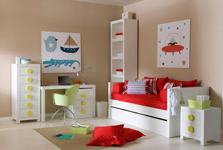 Ambientes infantiles amelia aran decoideas net - Habitaciones infantiles ninos ...