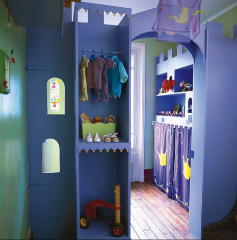 decoracion infantil castillo