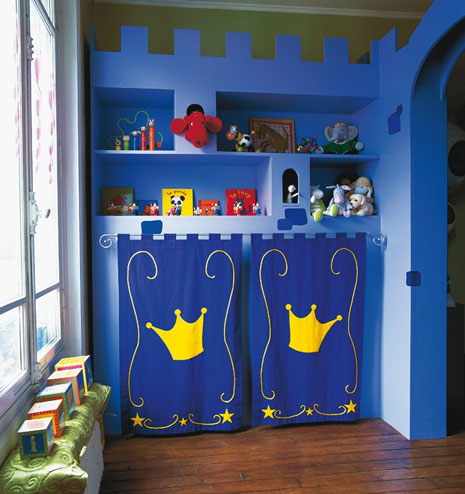 Decoracion castillo for Ideas decoracion habitacion infantil nina