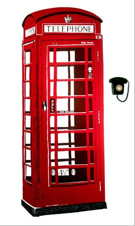 mural cabina telefonica