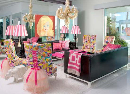 decoracion estilo barbie