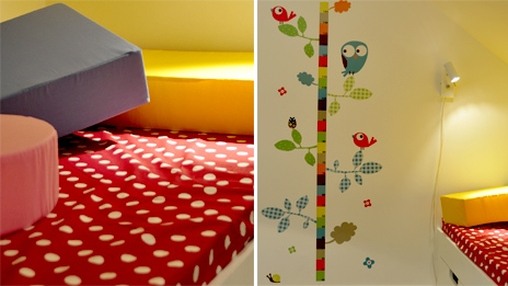 habitacion infantil de colores
