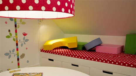 Proyecto decoración: habitación infantil de colores