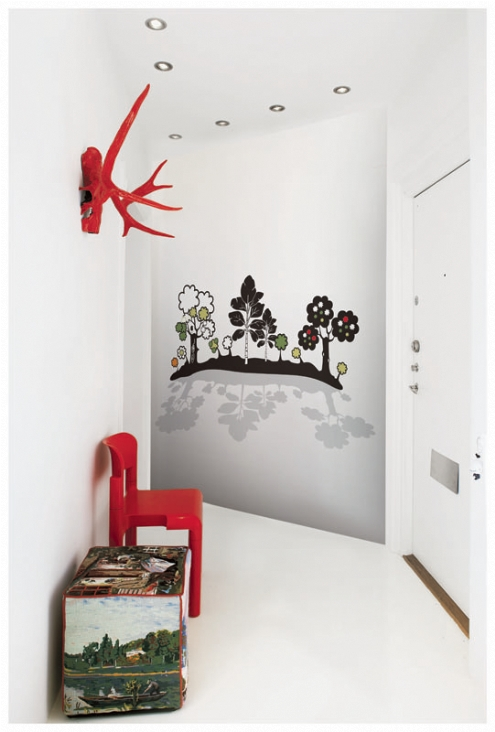 Bloom papers paredes originales y divertidas - Murales para habitaciones de bebes ...