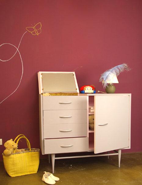 muebles unicos y decoracion de paredes