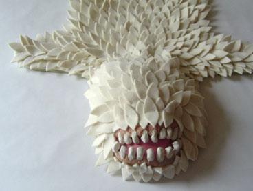 alfombra monstruo