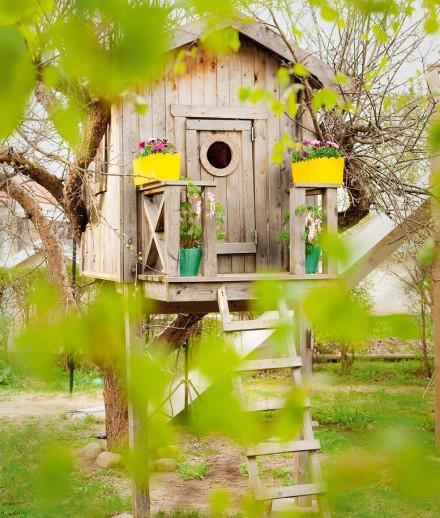 Inspiracion casitas para el jardin for Casita infantil jardin