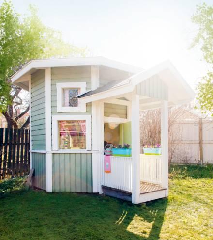 Inspiracion casitas para el jardin decoideas net for Casita de juegos para jardin