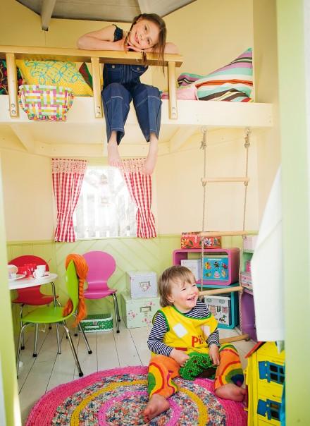 Inspiracion casitas para el jardin decoideas net for Casita infantil jardin