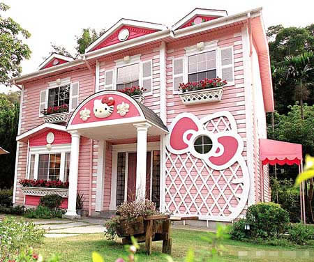 casa de hello kitty