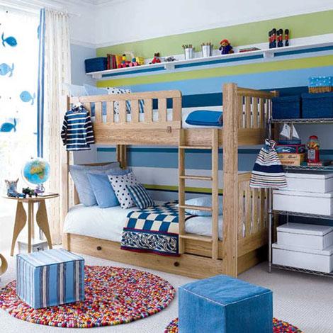 habitaciones infantiles compartidas